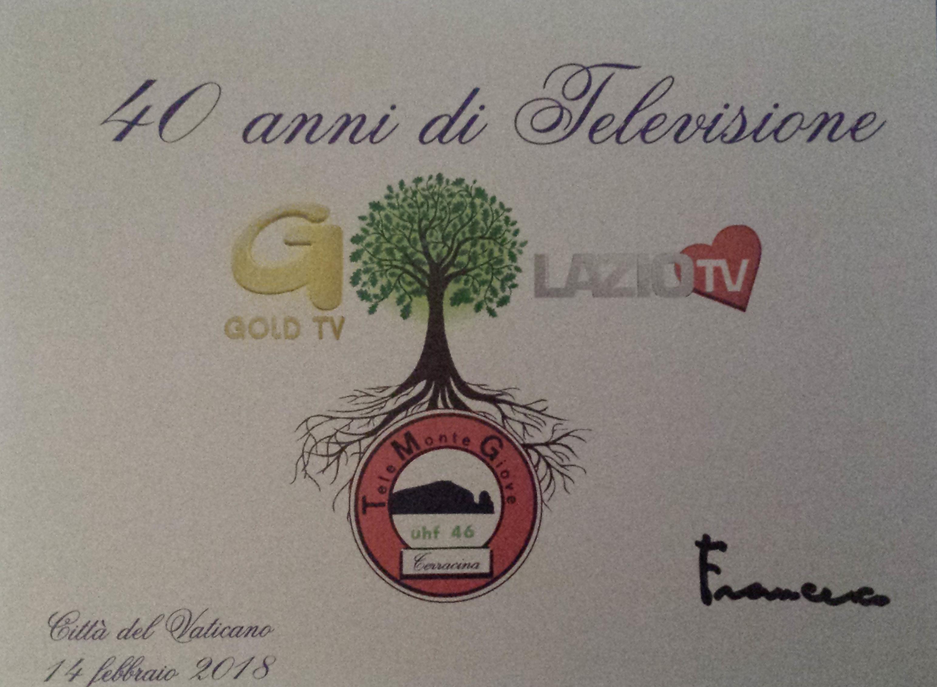 lazio tv 40 anni