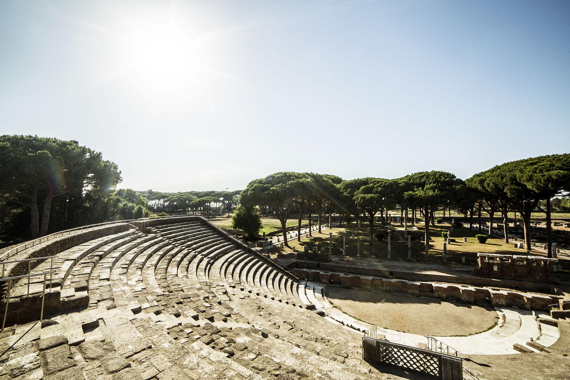 ostia antica teatro festival