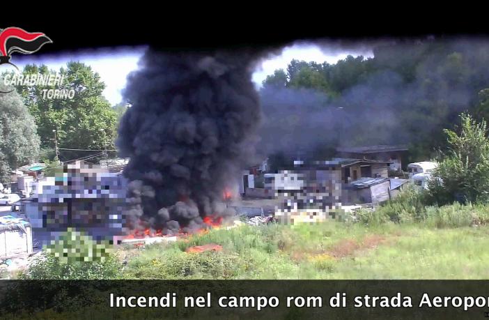carabinieri campo rom