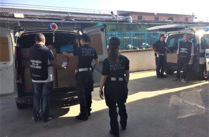polizia locale contraffazione