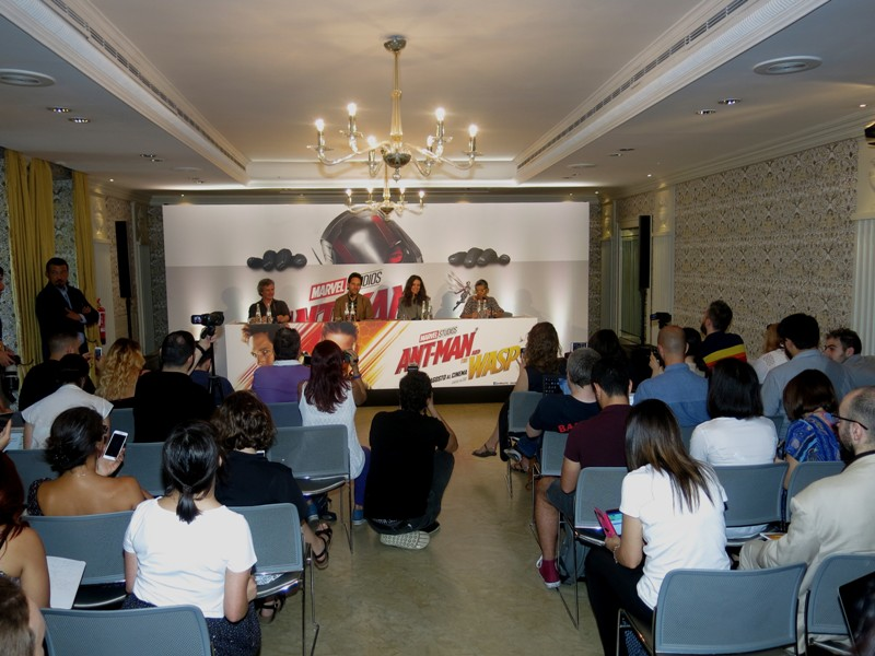 CONFERENZA STAMPA ANT-MAN AND THE WASP