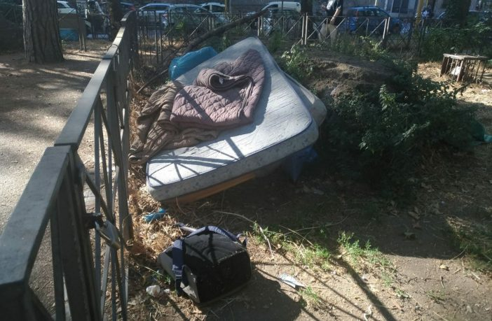 polizia locale insediamento abusivo