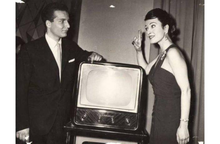 1956 - Primo applauso - foto con Silvana Pampanini