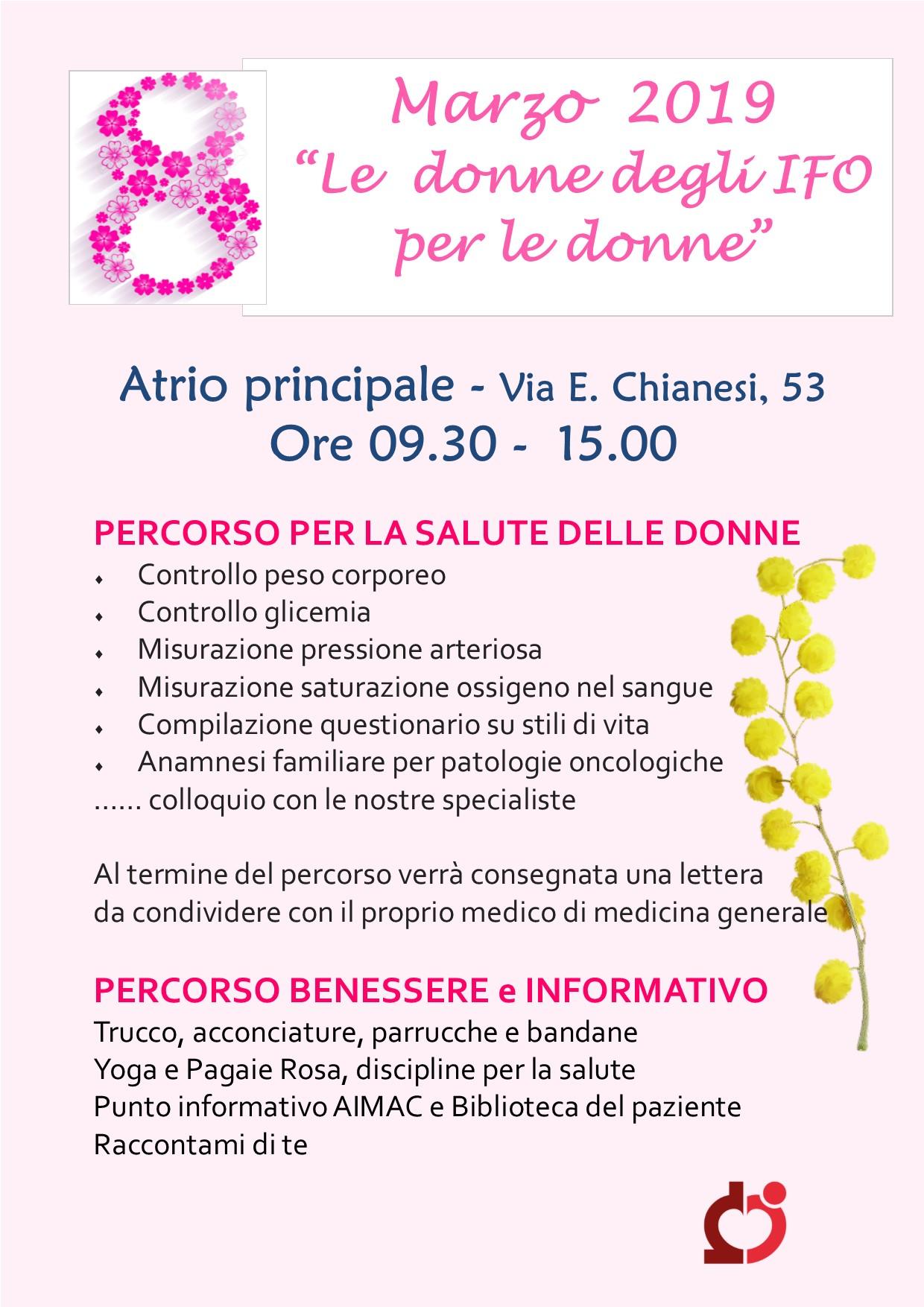 8 Marzo Open Day Salute E Benessere