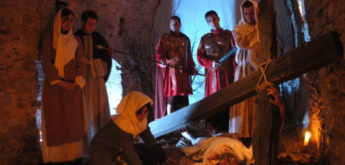 Pasqua a Città della Pieve, dove i quadri prendono vita