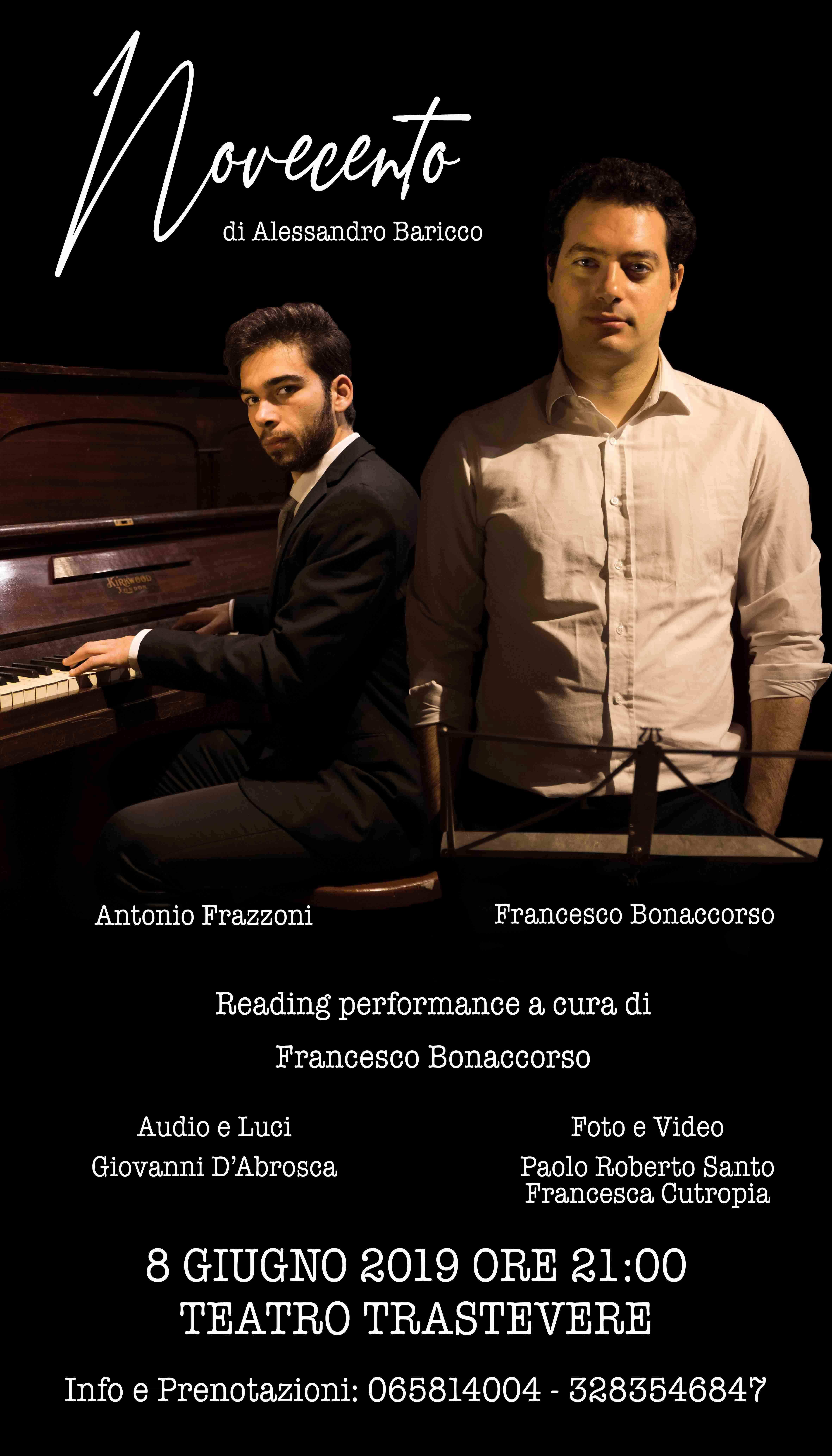 Novecento al Teatro Trastevere