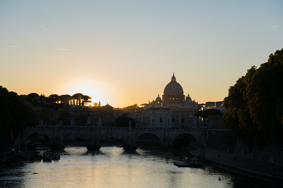 Calendario Alba Tramonto 2020.Dove Vedere La Piu Bella Alba E Tramonto 2020 A Roma