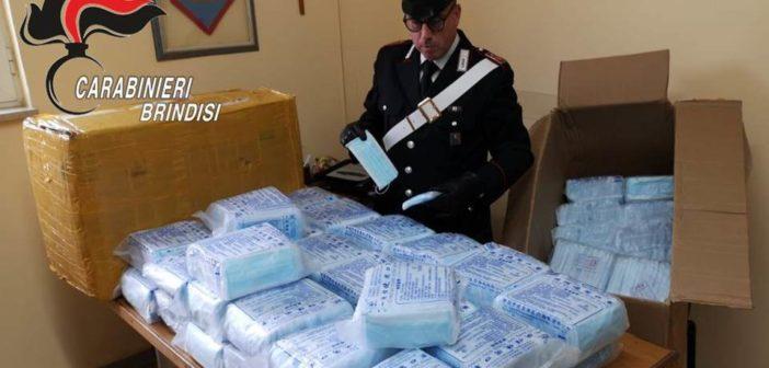 Rapinano 8.100 mascherine in TNT a commerciante cinese, arrestati dai Carabinieri due fratelli