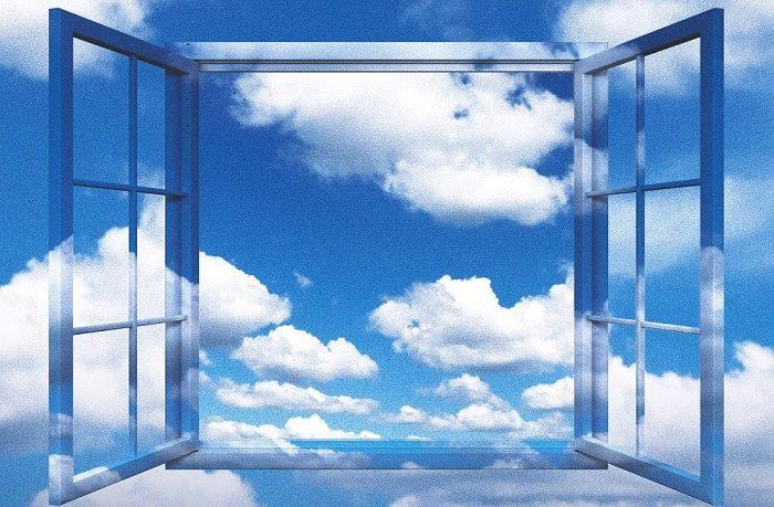 cielo è sempre più blu