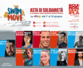 """Meedya e AISM Roma insieme per lo """"Swim&Move"""", asta solidale su Ebay, a sostegno della  ricerca scientifica contro la sclerosi multipla"""