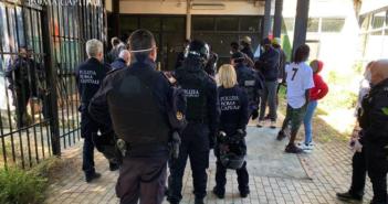 Tiburtino, operazioni della Polizia Locale presso ex Centro di Accoglienza della Croce Rossa
