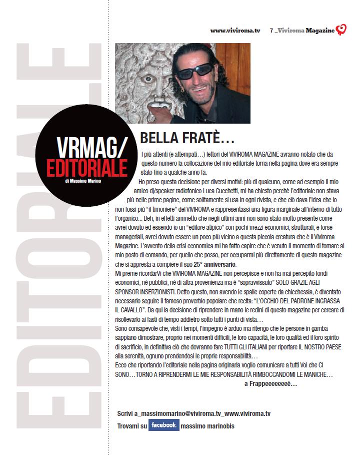 editoriale febbraio 2012